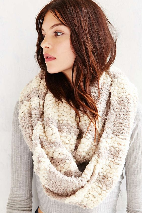 Variegated Cozy Eternity Scarf - Urban Outfitters