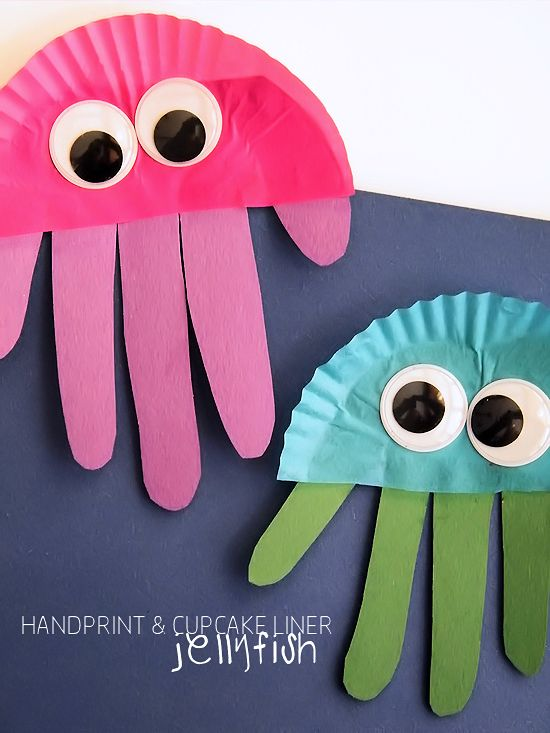 These Cupcake Liner & Handprint Jellyfish are such a cute, easy and colorful craft while also making a great summer handprint keepsake. It's amazing the creatures we find under the sea. And jellyfish are truly stunning and incredible. For our Cupcake Liner & Handprint Jellyfish, you'll need to gather various colors of cupcake liners and...Read More »
