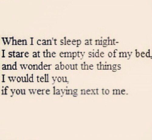 Things I would tell you