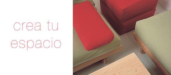 Crea tu propio espacio en Futon Tanoshii con infinitas combinaciones