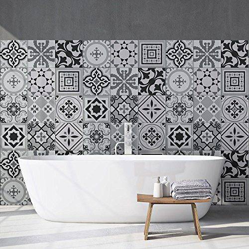 Design moderne Vente de liquidation 2019 vente de sortie Carrelage adhesif - stickers salle de bain et cuisine ...