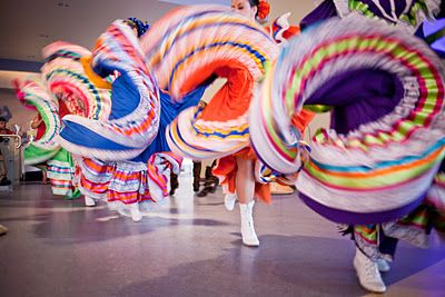 Mexican dance performances at a wedding, fabulous! Maxine Toh Photography