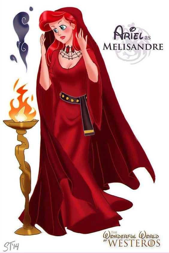 Princesas Disney em Game of Thrones - Assuntos Criativos