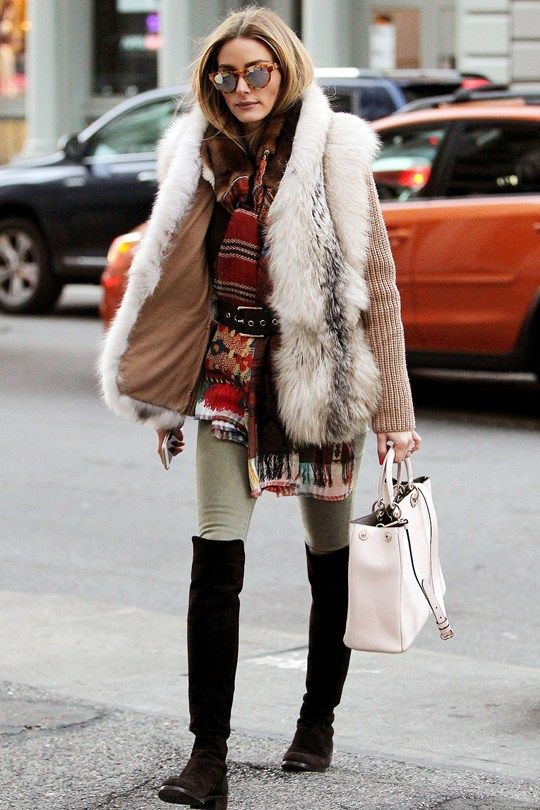 Olivia Palermo fall/winter fashion