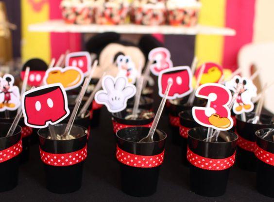 Festinha em Casa: Mickey Mouse Tradicional ~ Mamãe Sortuda