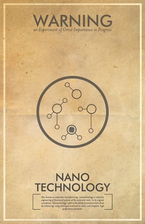 Fringe science posters - Nano Technology: