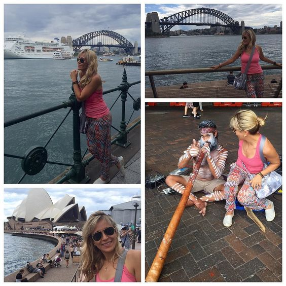 Walking around the #sydneyharbour. What a great walk #sydneyharbourbridge #operahouse #aboriginal #celebration #califestyle #worldtraveler #calilife #sydneyoperahouse - by nadias.travels http://ift.tt/1NRMbNv