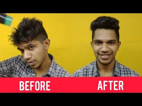 Easy Way To Style Your Hair In 3 Steps Malayalathil Anand Mj Youtube In 2020 Your Hair Style Hair