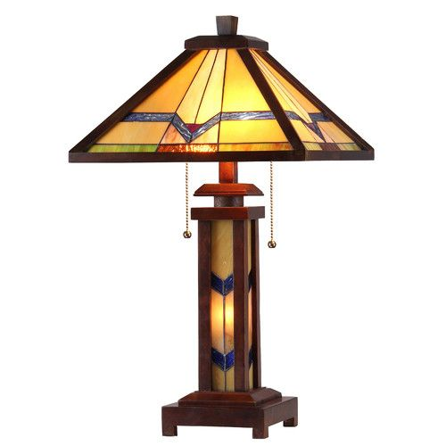 "Found it at Wayfair - Lehenard 25.6"" H Table Lamp with Empire Shade"
