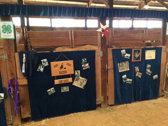 4H horse stall decorations #signsbye