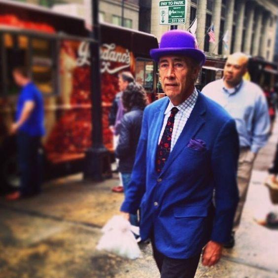 Publicitária fotografa velhinhos estilosos nas ruas de Nova York e mostra que moda e bom gosto não têm idade: