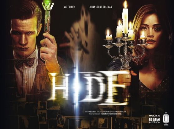 """Hide"" (Episode 9) Clara and the Doctor arrive at Caliburn House, a haunted mansion sat alone on a desolate moor. Within its walls, a ghost hunting Professor and a gifted psychic are searching for the Witch of the Well. Her apparition appears throughout the history of the building, but is she really a ghost? And what is chasing her? Written by Neil Cross and directed by Jamie Payne (The Hour, Call the Midwife)"