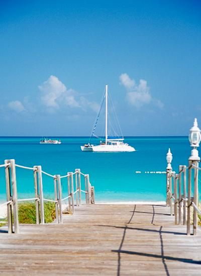 Turks and Caicos. living on, or near the sea.