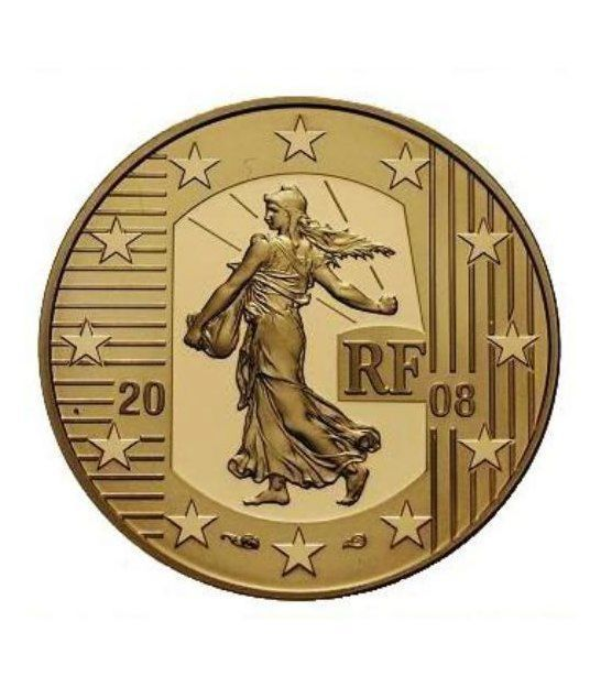 France 2008 10 Euro La Semeuse 1 4 Oz 920 Gold Coin Mintage 2000 Only Gold Coins Gold Bullion Bars Gold Stock