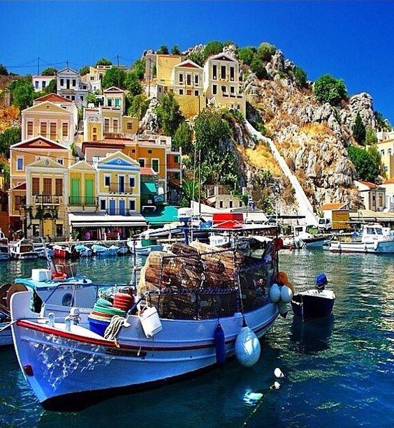 Sardaigne, Italie C'est trop beau toutes ces couleurs !!! ❤