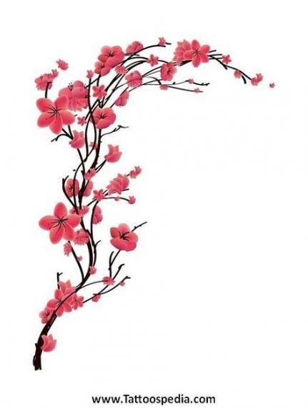 Japanese Cherry Blossom Tree Tattoo Tat 36 Ideas Cherry Blossom Tree Tattoo Blossom Tree Tattoo Cherry Blossom Tattoo