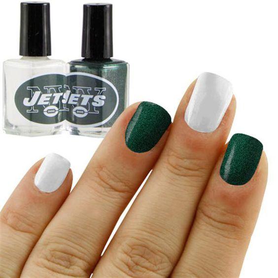 Nyc Metallic Nail Polish: New York Jets Nail Polish Colors
