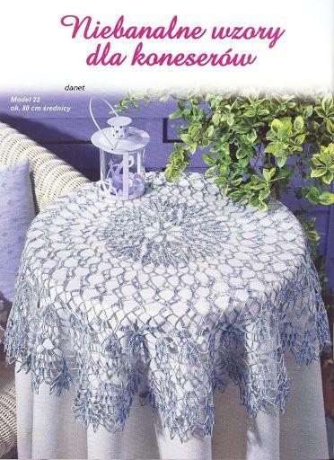 crochet مفارش طاولات كبيره - mumy50 - Picasa Albums Web