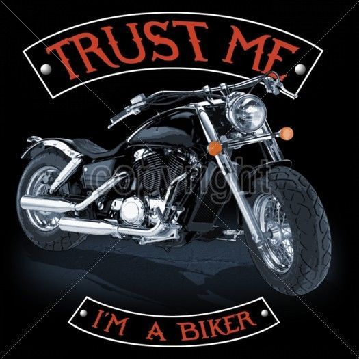 Bike Tshirt Trust Me I'm A Biker Chopper Ride Motorcycle Route 66 Rally Helmet #Unbranded #GraphicTee