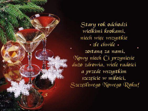 NoworocznezyczeniaNowyRokkartkazzyczeniamijola001_20130101163726.gif  (640×480) | Happy new year, Learn polish, Christmas time