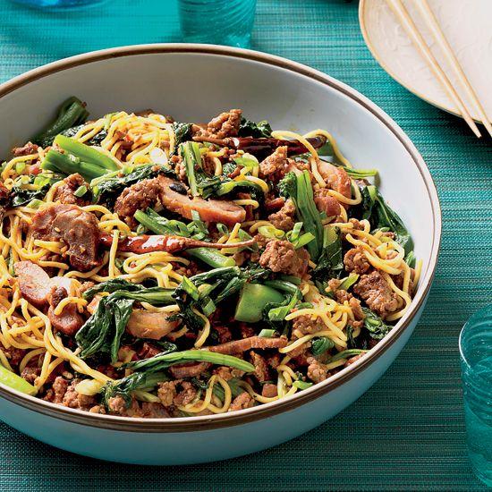 Asian Noodles with Roast Pork | Food & Wine