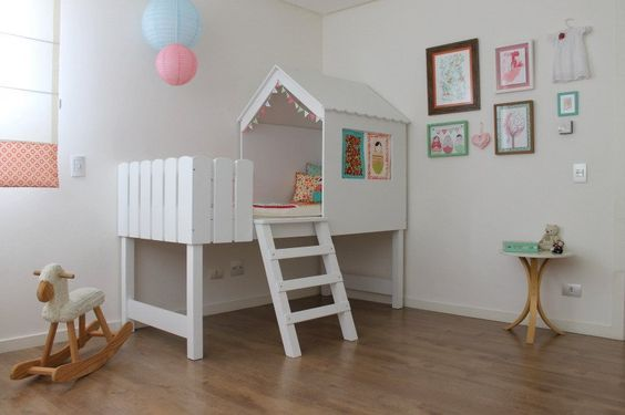 Name: Mirela  Location: Curitiba, Brazil   I've created this matryoska bedroom for my dear niece Mirela. My sister and I decided on a bright and colorful room for her.