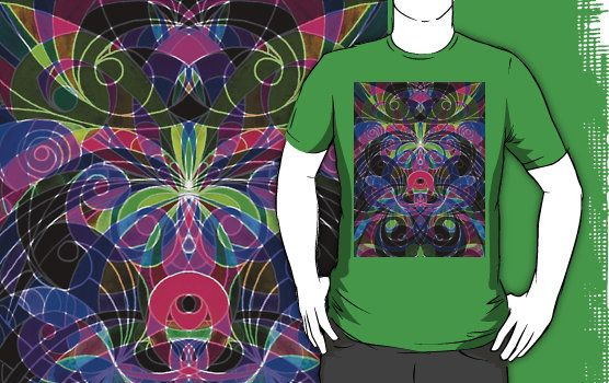SOLD T-Shirt Floral abstract background! #Redbubble #shirt #drawing #ethnic #floral #abstract @Redbubble http://www.redbubble.com/people/medusa81/works/9334143-floral-abstract-background?p=t-shirt
