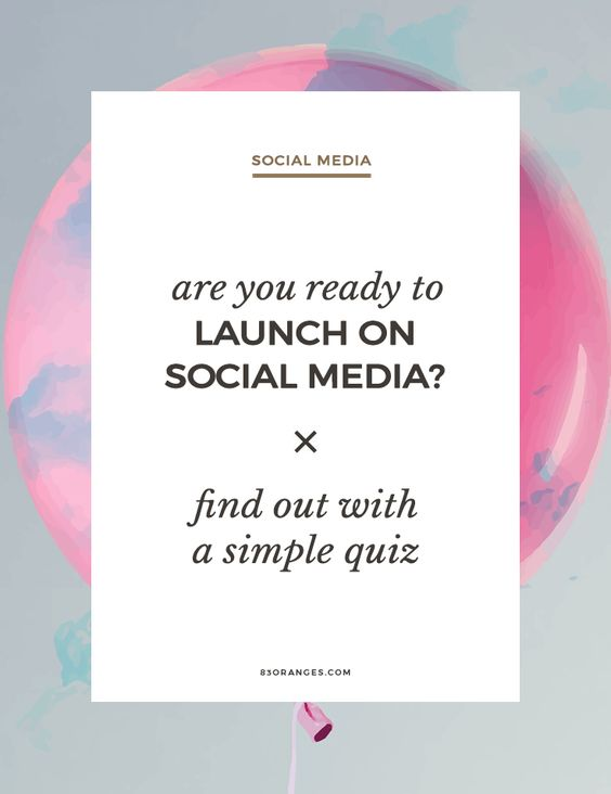 Are You Ready To Launch Your Business on Social Media? Find Out When starting to build a business presence on social media, you need to first ask yourself the following questions:Powered by WPeMatico... http://83oranges.com/am-i-ready-to-launch-my-business-on-social-media/