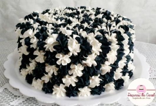 Bolo Preto E Branco 100 Dicas Lindas E Deliciosas Para Voce Com