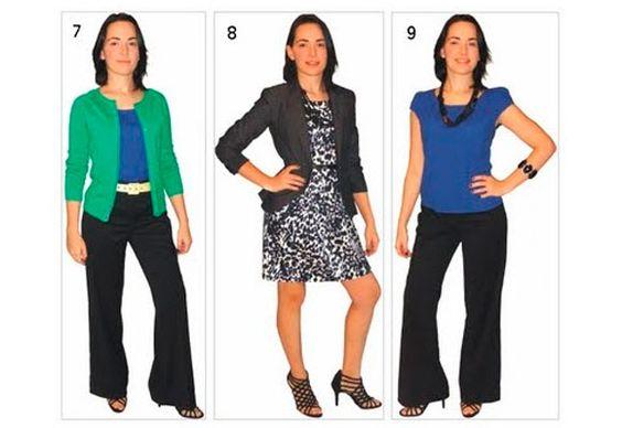 Usar as roupas básicas em diferentes ocasiões