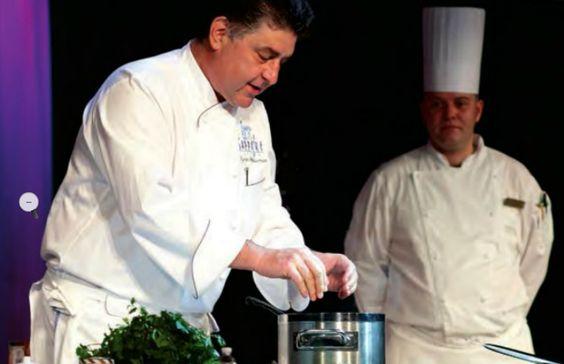 Want more culinary action? Attend a cooking demo with a world class chef right onboard! #cooking