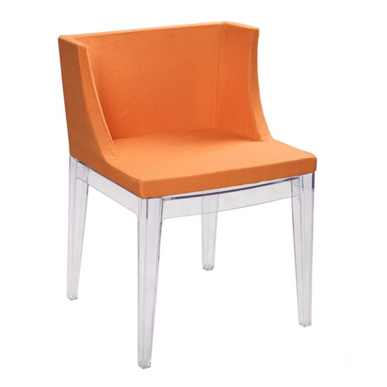 orange mademoiselle chair by philippe starck for kartell wild modern furniture designs. Black Bedroom Furniture Sets. Home Design Ideas