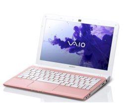 Netbook Sony Vaio SVE1112M1E P rose moins cher - 436,39 € livré -