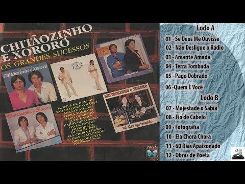 Chitaozinho Xororo Coletanea Musicas Romanticas 1990 Ate 1980