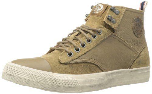 Diesel Men's Laky Hi-Sleeky Sneaker