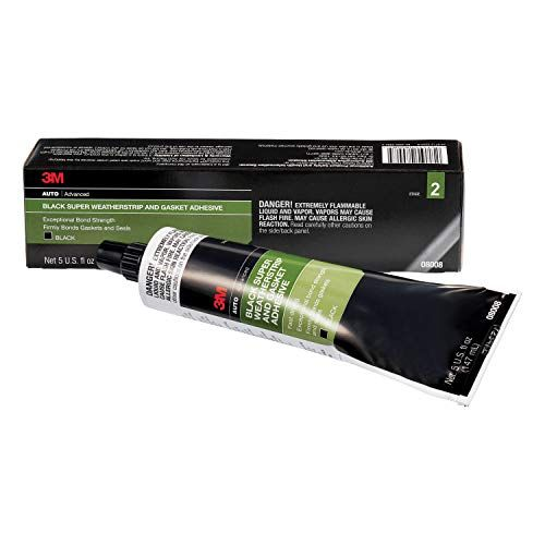 3m Black Super Weatherstrip And Gasket Adhesive Stage 2 Exceptional Bond Strength That Firmly Bonds Gaskets Weather Stripping Adhesive How To Remove Adhesive
