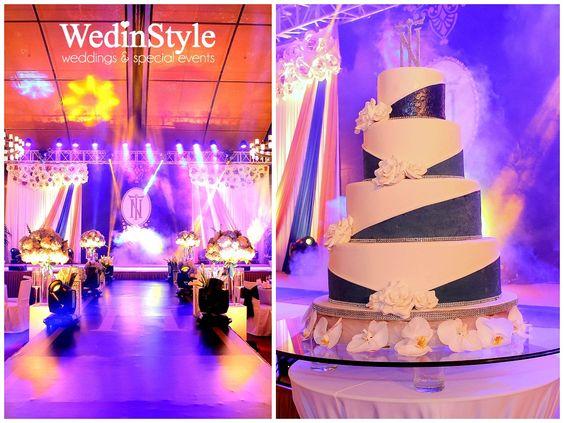 Wedding cake Luxury Wedding by WedinStyle The Stylish Wedding