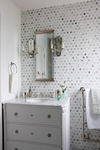 Antique Vintage Style Bathroom Vanity Inspiration Hello Lovely