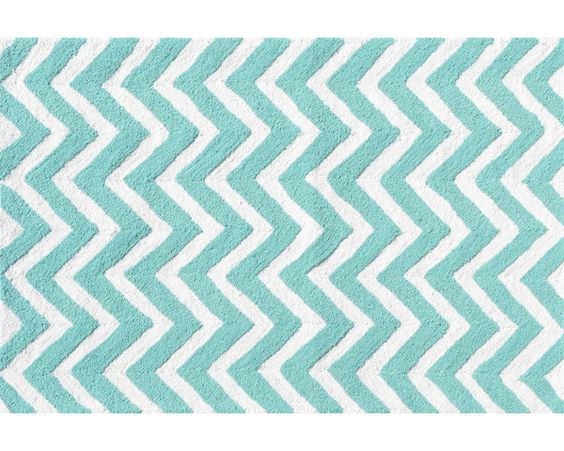 Hand-Hooked Teal Outdoor Area Rug
