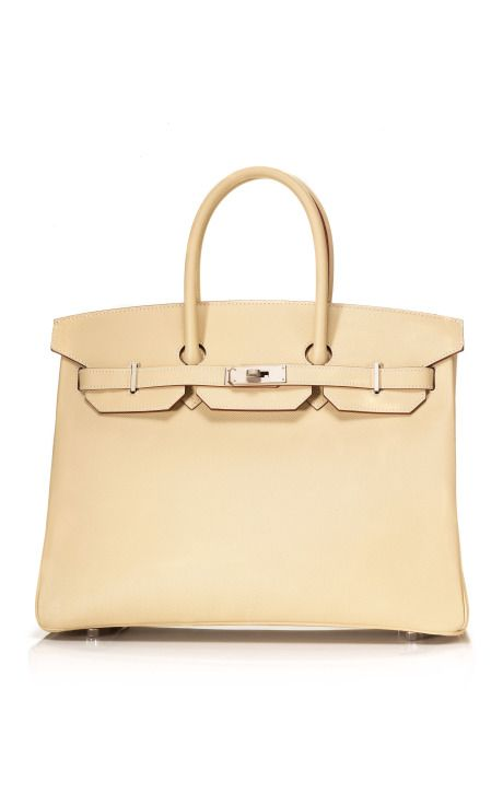 hermes handbags for sale - Investment bag - 35cm Parchment & Etoupe Epsom Leather Special ...