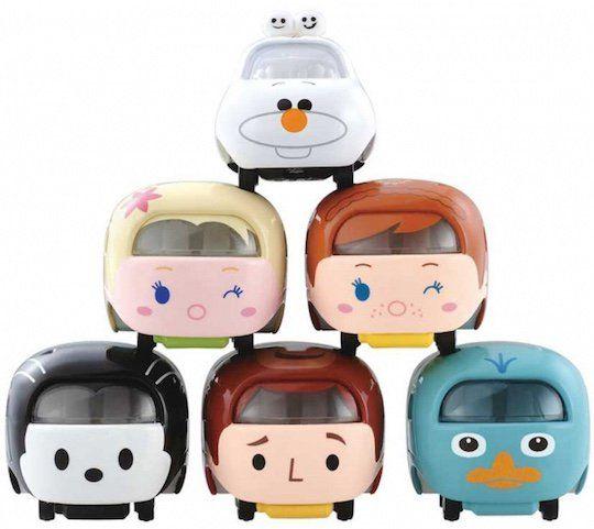 Disney+Motors+Tsum+Tsum+Olaf,+Elsa,+Anna,+Woody,+Oswald,+Perry