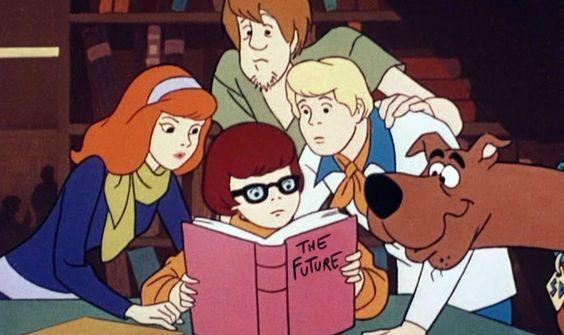 onde estão os personagens de Scooby Doo???