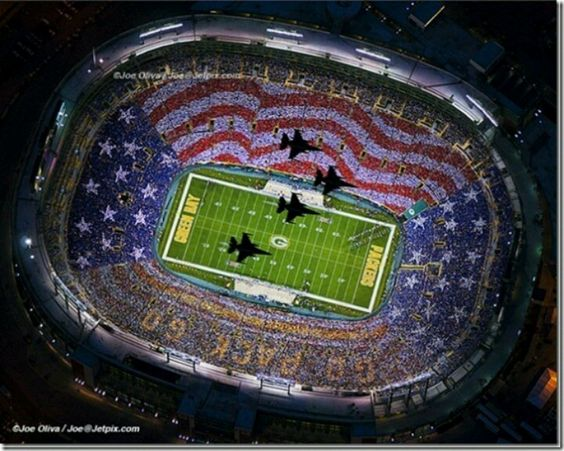 In Memory of attack on Those who Choose to Protect Us! @Packers Game