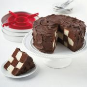 Checkerboard Cake Pans