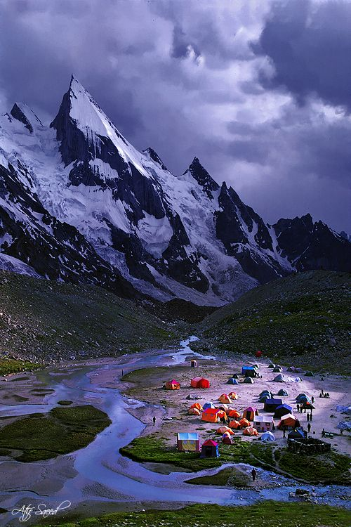 Laila Peak 6096 Gondogoro Glacier, Hushe Valley