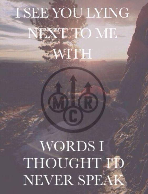 My Chemical Romance   Famous Last Words lyrics