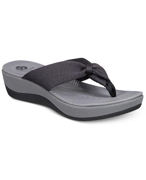 Clarks Collections Women S Arla Glison Flip Flops Shoes Sandals