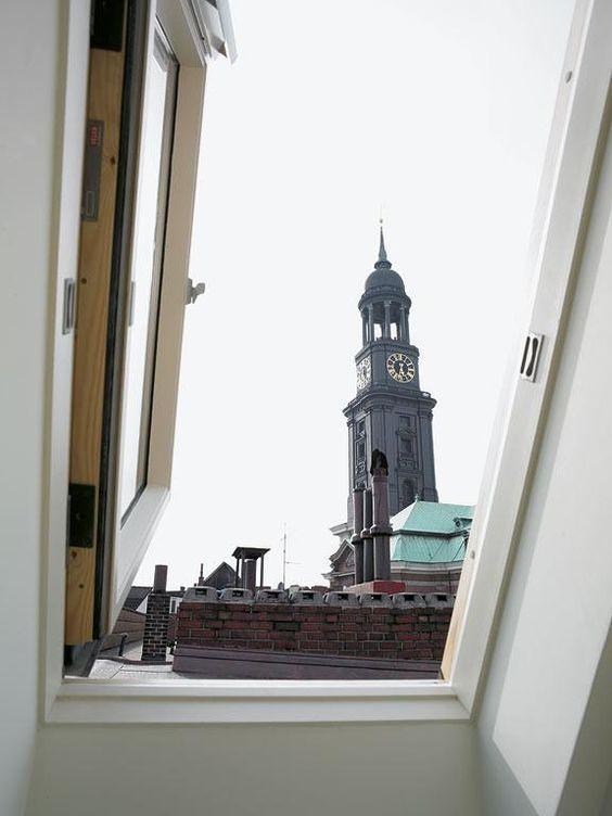 Dachterrasse mit Aussicht