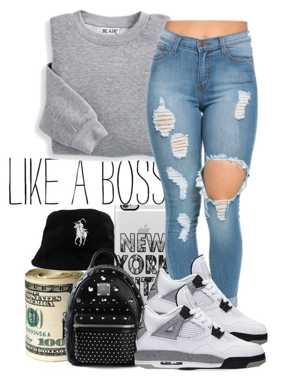 """""""LIKE A BOSS"""" by charming-216 on Polyvore featuring Casetify, MCM and Blair"""