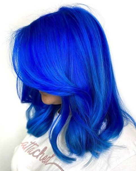 22+ Royal blue hair dye ideas in 2021